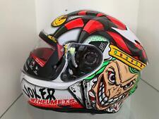 MT Helmets Targo Joker A0 Casco Moto Adulto Unisex - Gloss-Pearl White, Taglia L