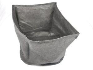 Flexible Fabric Koi Pond or Water Garden Planter Basket 6 Inch Round, 3 Pack