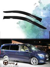 Window Visor Guard Deflector Vent For Mercedes Benz W447 Metris VITO V250 V220D