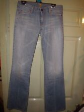 "7 For All Mankind Jeans 29""Low waist Bootcut Made in USA 36 waist 40 hips 34 leg"