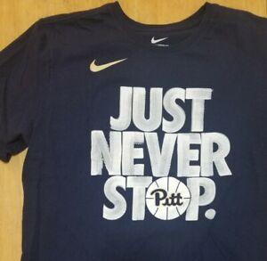 Pittsburgh Panthers Men's Nike T Shirt Size xl NWOT New Basketball #382