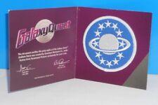 """Loot Crate Exclusive Quantum Mechanix Galaxy Quest Cloth Emblem Patch 2 7/8"""""""