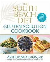 RODALE*320pg ARTHUR AGATSTON Hardcover SOUTH BEACH DIET GLUTEN SOLUTION COOKBOOK