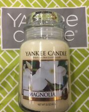 💚RETIRED💚Yankee Candle 💚22oz/623g Large Jar💚MAGNOLIA💚Very Hard To Find!💚