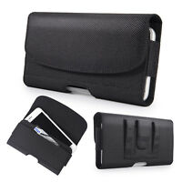 Horizontal Nylon Phone Case Pouch Holster for Samsung Galaxy S8 S9 Plus