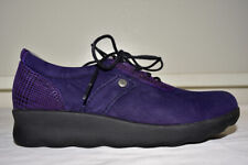 Wolky Walking Flat Shoes Lace Up Women's 38