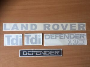 LAND ROVER DEFENDER 110 REPLACEMENT DECAL KIT