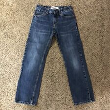 Levi's 505 Straight Jeans Boys Sz 12 Regular