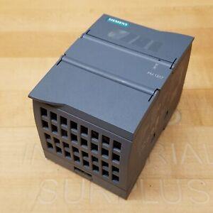 Siemens 6EP1332-1SH71 Simatic PM 1207 Power Supply, 24V/2.5A - USED