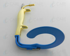 C Circular Ring Breast Insulated Retractor Fiber Optics Care Instruments