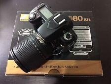 Nikon D80 10.2MP Digital SLR Camera - Black (Kit w/ 18-135mm Lens)