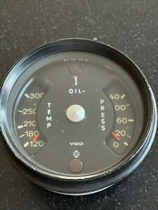 Porsche 911 Oil Temp And Pressure Gauge 641 104 00 11/71