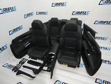 BMW 7er F01 Lederausstattung Komfortsitze Memory Sitzheizung LEDER DAKOTASCHWARZ