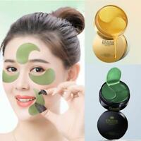 60pc Seaweed Under Eye Gel Patches Mask Anti-Wrinkle Dark Circle Whitening D2A0