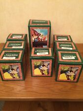 Royal Doulton Snow White and the Seven Dwarves Set with Original Boxes NEW