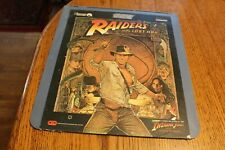 RAIDERS OF THE LOST ARK VIDEODISC CED (1981 PARAMOUNT PICTURES, LUCASFILM LTD.)