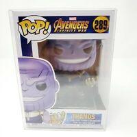 Funko Pop! Marvel Thanos #289  Vinyl Figure Pop Protector Genuine Authentic