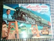 Vintage 1954 Gilbert Toys, American Flyer Erector Catalog Excellent Condition