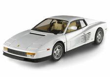 1986 FERRARI TESTAROSSA WHITE MIAMI VICE HOT WHEELS ELITE 1:18 MOVIE SERIES CAR