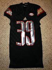 2015 Adidas Louisville Cardinals #39 Aaron Floyd Football Game Worn Jersey