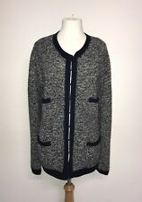 BODEN - Ladies BLUE CHUNKY HAND KNIT CARDIGAN - Size 22 - BNWT - GORGEOUS