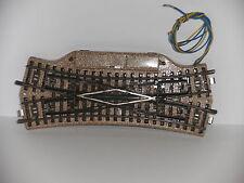 Märklin 5207 (16) H0 M - Gleis Elektrische Kreuz-Weiche guter Zustand