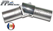 Articulation interne 90° Pour Tube de 20mm Avec Epaisseur 1.5mm inox 316