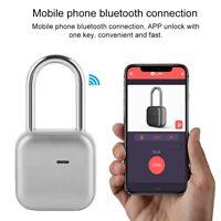 Wireless Smart Bluetooth Lock Waterproof Keyless Anti-theft Luggage Door Padlock