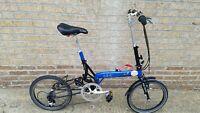 Bike Friday Tikit Brompton Folding bike tern commuter XS size