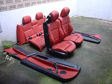 Inkl UMBAU BMW E93 Cabrio korallrot Lederausstattung Sitze Sportsitz Ausstattung
