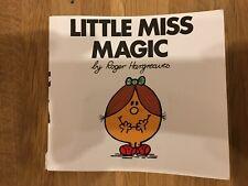 Little Miss Magic Book - Roger Hargreaves - Mr Men Books
