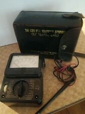 Vintage 8 Ohio Bell Telephone Company Ac Dc Voltage Tester Ks 14510 L5 With Case