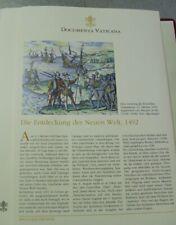 Documenta Vaticana Archiv Verlag Bl 01207 Die Entdeckung der Neuen Welt 1492 kt.