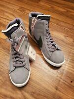 Nike Blazer Mid Rebel women's Sz 12/ men's sz 10.5 Sneakers Cool Grey BQ4022 004