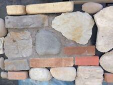 1 scatola di rivestimento in pietra ricostruita effetto faccia-vista