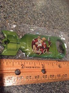 Harley Quinn Bombshell Metal Keychain Bottle Opener New In Package