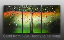 Framed Oil Painting on canvas fairlyland tree Ready to be hung