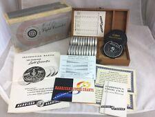 Vintage Harrison & Harrison H&H Light Corrector Filter Set