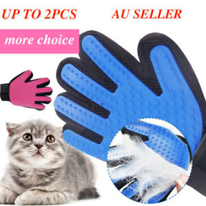 grooming glove for pet dog cat cleaning  hair remover brush descending touch  ca
