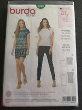 Burda style 6540 top and dress US sizes 6-20 uncut
