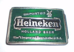 Belt buckle   -  Heineken