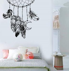 Dreamcatcher Feather Wall Stickers Feather Wall Decals Kids Rooms Home Decor