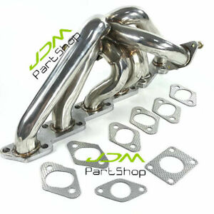 Fit 85-99 Nissan Skyline Silvia S13S14 240SX R32R33R34 T3Flange Exhaust Manifold