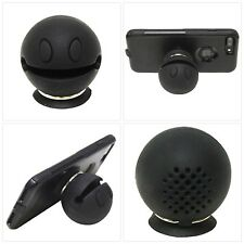 Rock-Man Portable Wireless Bluetooth Mini Happy Face Speaker with Key Ring, suct