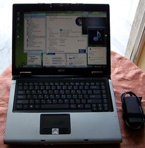 """Acer Aspire 5100, 15"""" AMD MK-36, 2.0GHz, 2GB Ram 120GB HD WiFi Win 7 (5600)"""