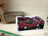 BBURAGO BURAGO MADE IN ITALY 1/18 CHEVROLET CORVETTE TARGA 50TH ANNIVERSARY