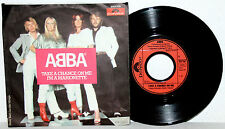 "7"" Vinyl ABBA - Take A Chance On Me / I´m A Marionette"