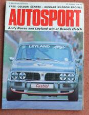 October Autosport Sports Magazines