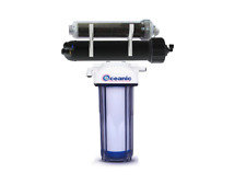 Oceanic's StingRay Aquarium Reef Reverse Osmosis 75GPD 4 Stage Color Changing DI