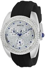 Invicta Women's Angel 28483 38mm White Dial Silicone Watch